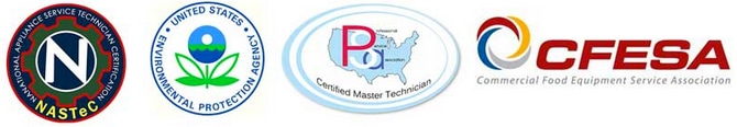 Appliance repair certifications.