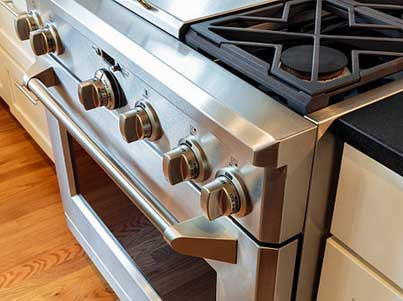 We do stove and range repair.