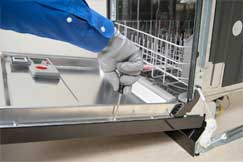 Dishwasher repair in Bend by Oregon Appliace Repair.
